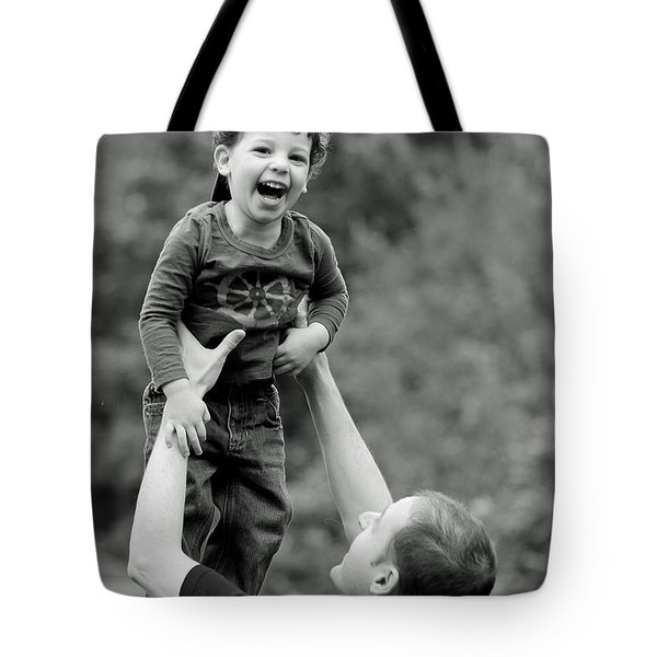 Father and Son III Tote Bag by Lisa  Phillips