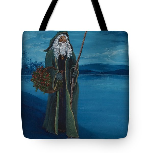 Father Christmas Tote Bag by Darice Machel McGuire