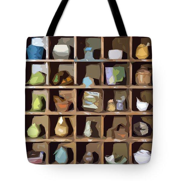 Favorite Things 1 Tote Bag by Patrick M Lynch