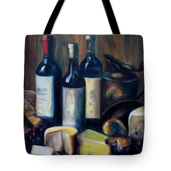 Feast Still Life Tote Bag by Donna Tuten