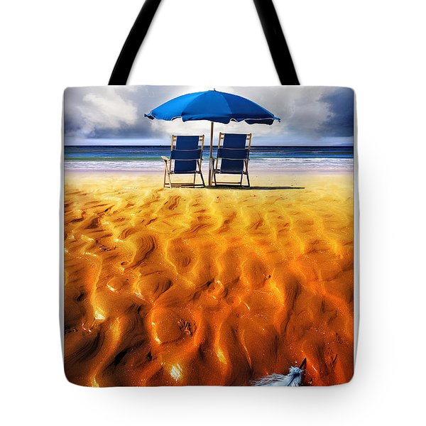 Feather Light Tote Bag by Mal Bray