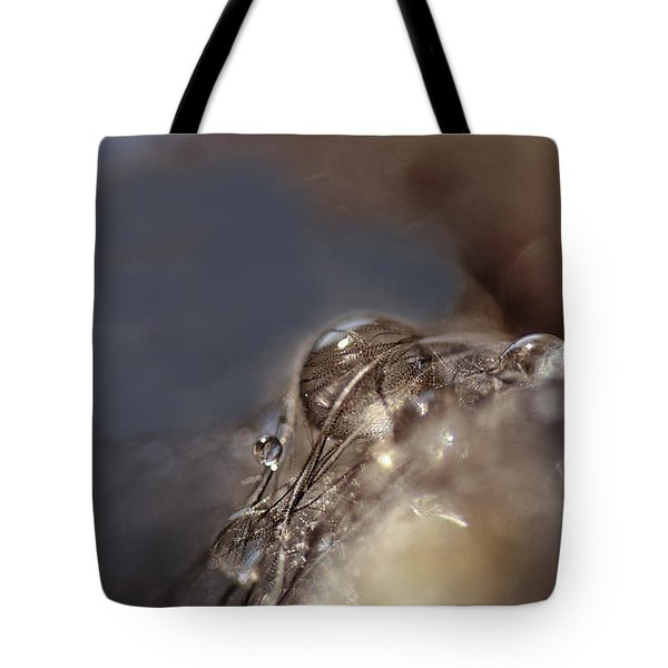 Feathers And Pearls Tote Bag by Susan Capuano