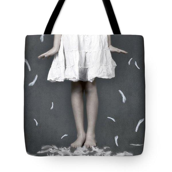 feathers Tote Bag by Joana Kruse