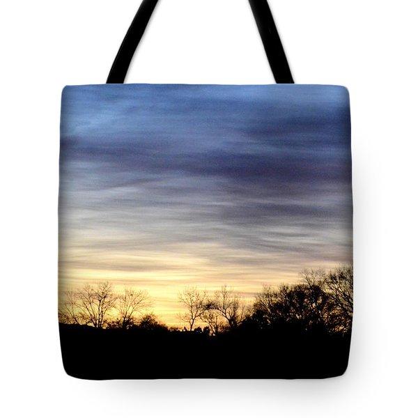 February 1 Dawn 2013 Tote Bag by Maria Urso