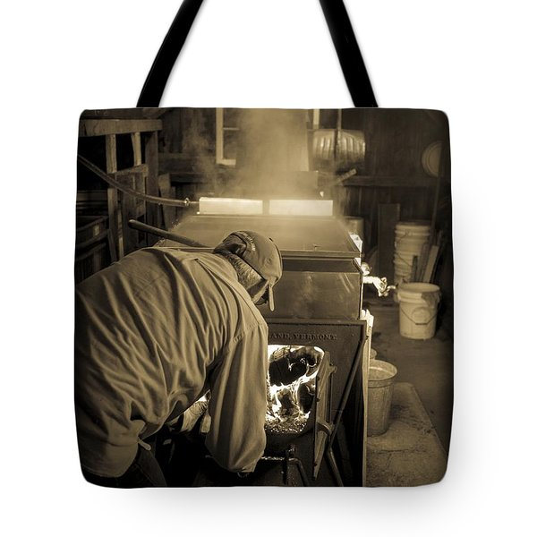 Feeding the Beast Tote Bag by Edward Fielding