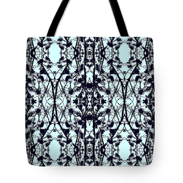 Feeling French Mosaic Tote Bag by Kate Farrant