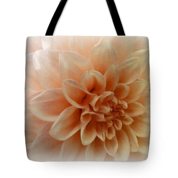 Feeling Peachy Tote Bag by Faye Giblin