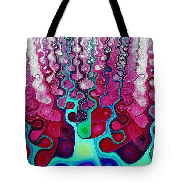 Felt Fantasy Tote Bag by Anastasiya Malakhova