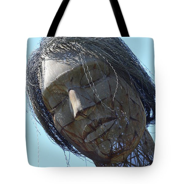 Female Sculpture On San Francisco Treasure Island 7D25445 Tote Bag by Wingsdomain Art and Photography