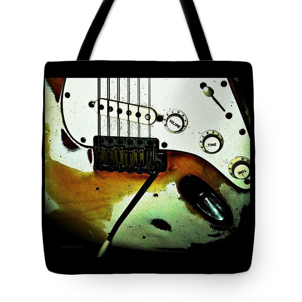 Fender Detail  Tote Bag by Chris Berry