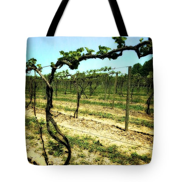 Fenn Valley Vineyards Tote Bag by Michelle Calkins