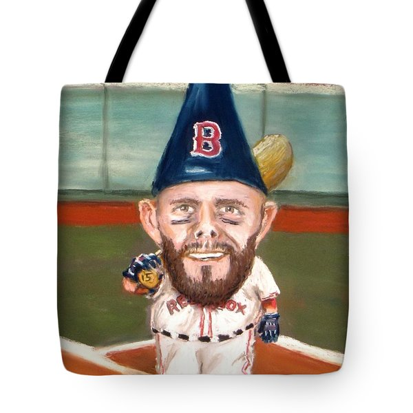 Fenway's Garden Gnome Tote Bag by Jack Skinner