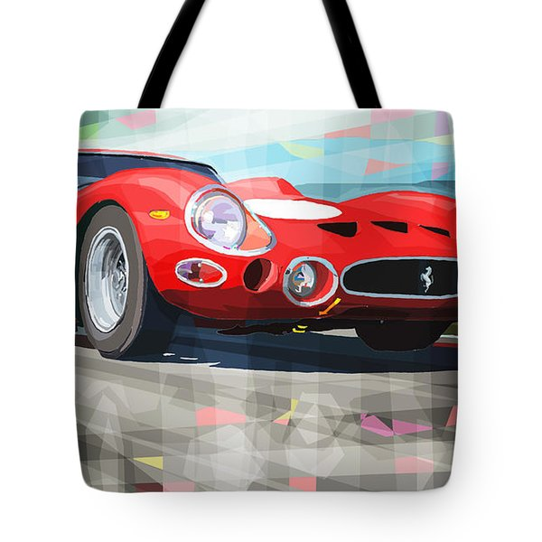 Ferrari 330 GTO 1962 Tote Bag by Yuriy Shevchuk
