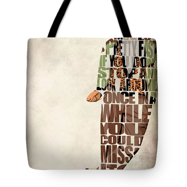 Ferris Bueller's Day Off Tote Bag by Ayse Deniz