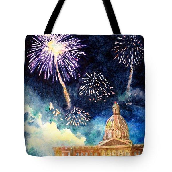 Festive Season Tote Bag by Mohamed Hirji