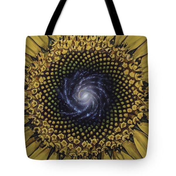 Fibonaccis Mandela V.2 Tote Bag by Simon Kregar