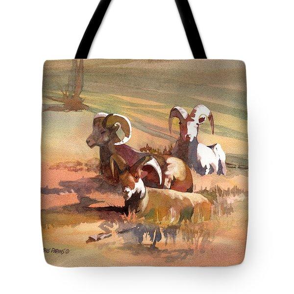 Field Day Tote Bag by Kris Parins