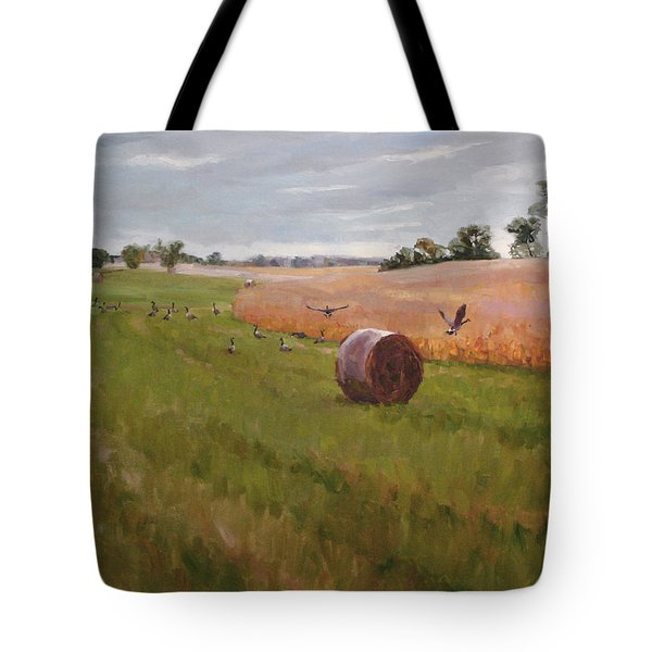 Field Day Tote Bag by Scott Harding