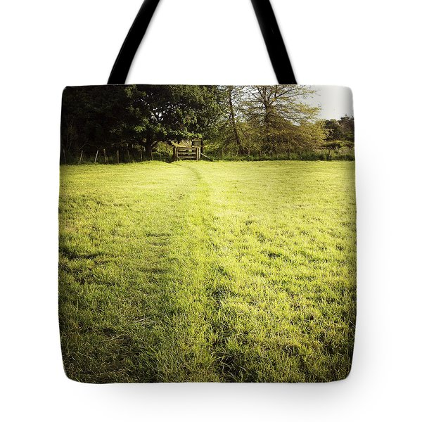 Field Tote Bag by Les Cunliffe