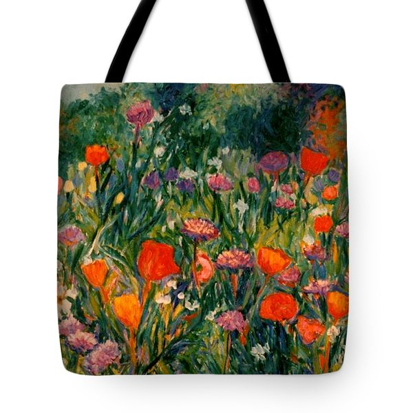 Field Of Flowers Tote Bag by Kendall Kessler