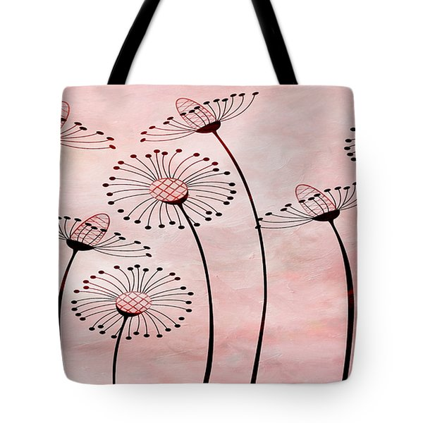 Field Of Flowers Within 3 Tote Bag by Angelina Vick
