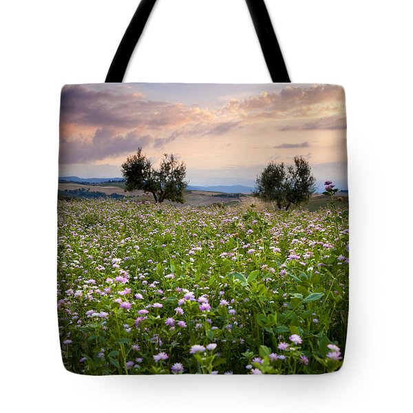 Field Of Wildflowers Tote Bag by Brian Jannsen