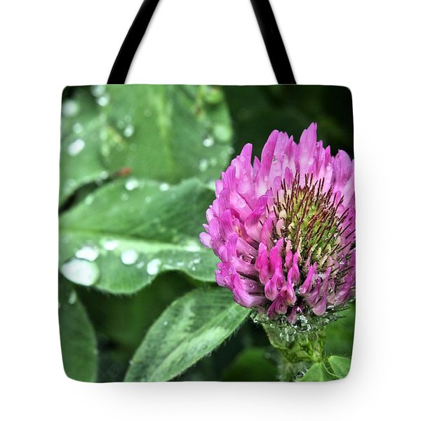Fields of Clover Tote Bag by JC Findley