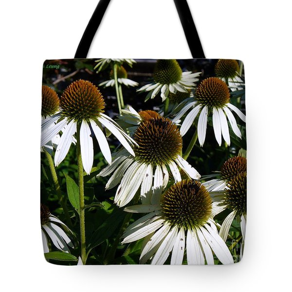 Fields Of Gold Tote Bag by Lingfai Leung