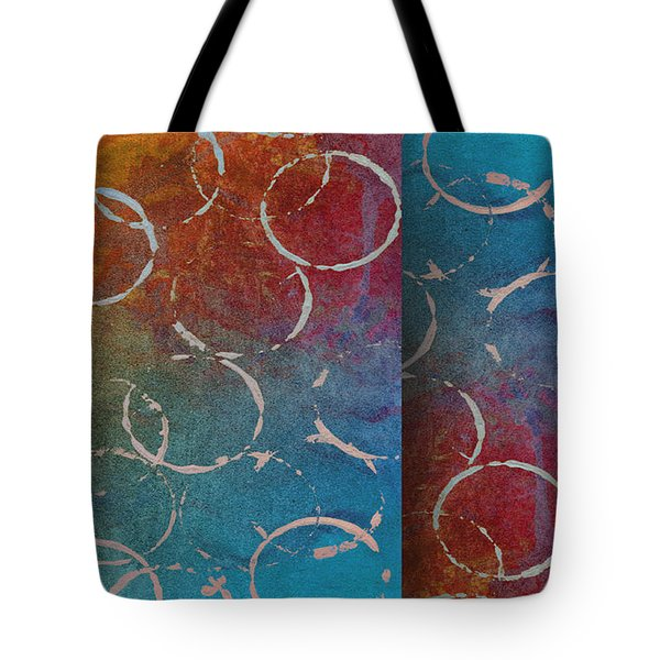 Fiesta -abstract -art Tote Bag by Ann Powell