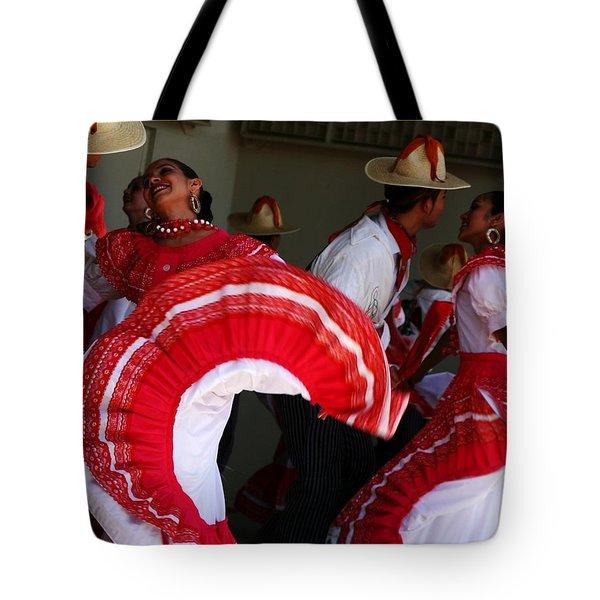 Fiesta De Los Mariachis Tote Bag by Joe Kozlowski