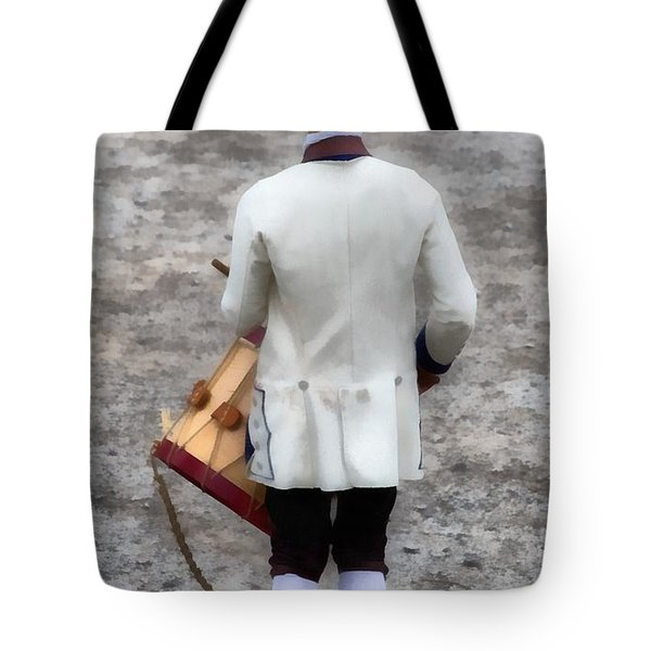 Fife And Drum Tote Bag by Edward Fielding