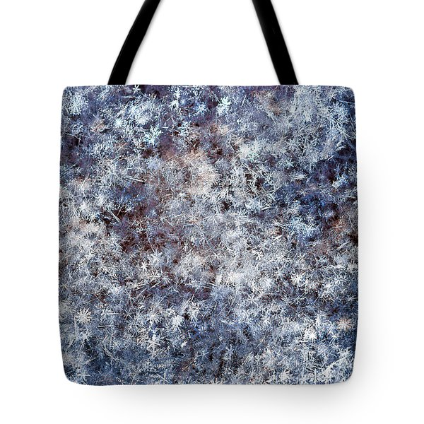Fifty Shades Of White Tote Bag by Alexander Senin