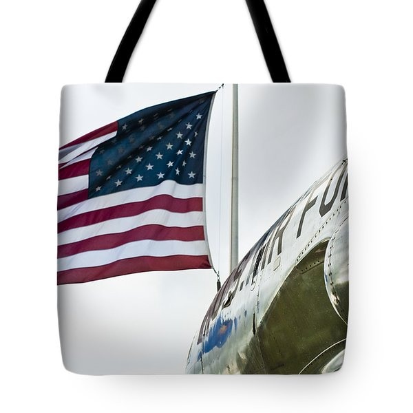 Fighting Flyers Tote Bag by Christi Kraft