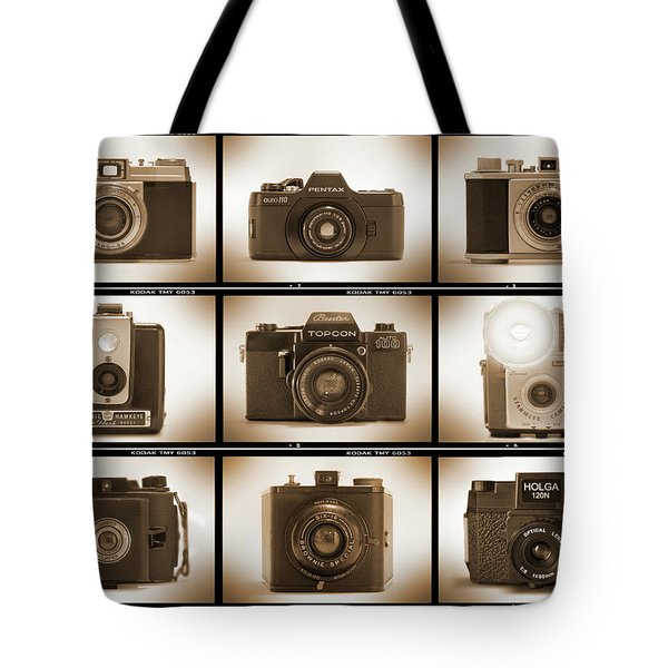 Film Camera Proofs 3 Tote Bag by Mike McGlothlen