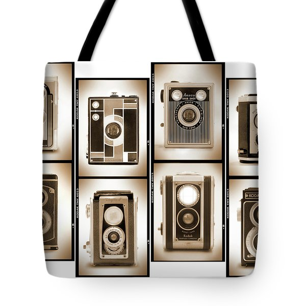 Film Camera Proofs 4 Tote Bag by Mike McGlothlen