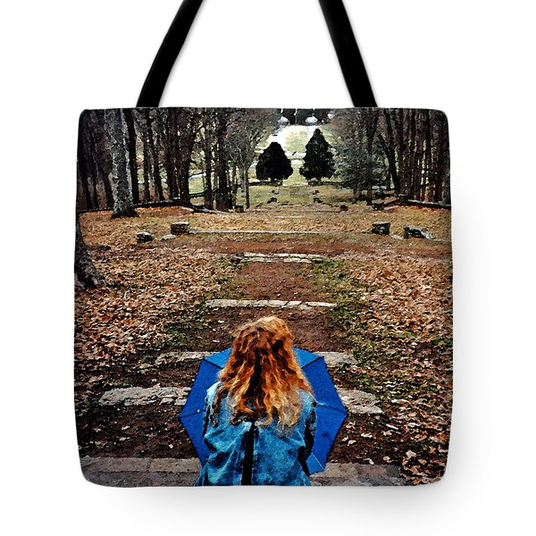 Find Me Tote Bag by Lydia Holly