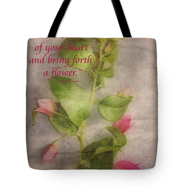 Find the Seed Tote Bag by Cheryl Young