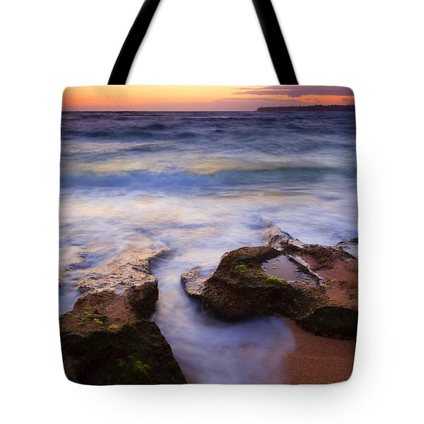 Finding the Cracks Tote Bag by Mike  Dawson