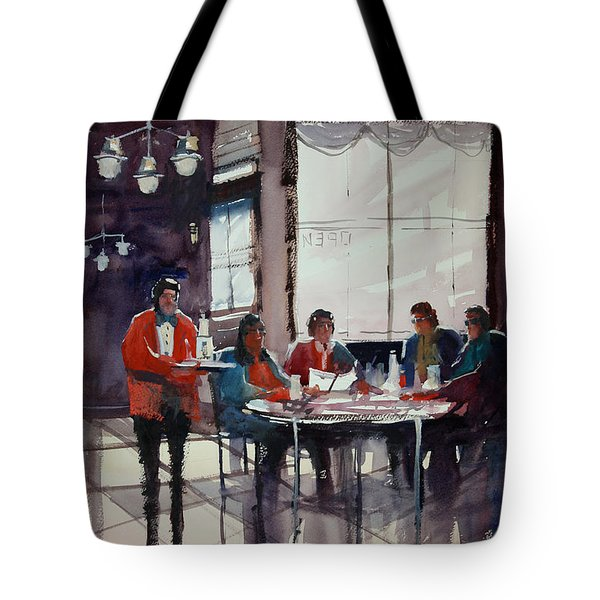 Fine Dining Tote Bag by Ryan Radke