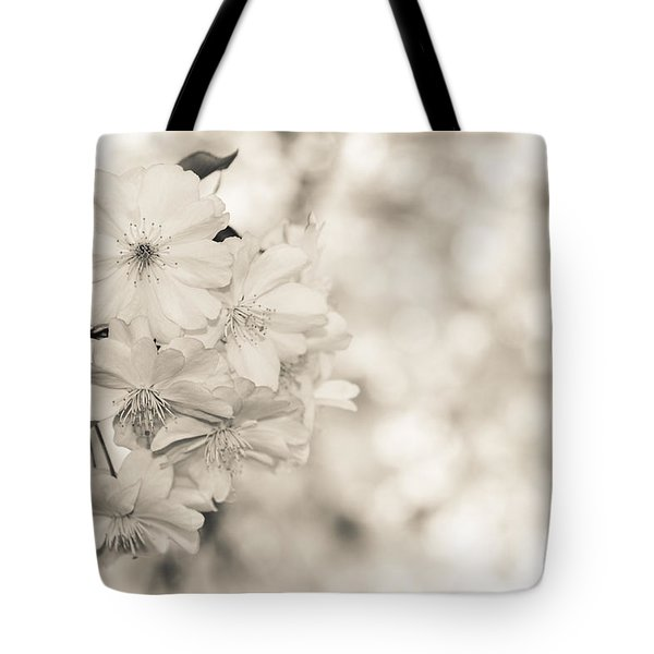 Finest Spring Time - Bw Tote Bag by Hannes Cmarits