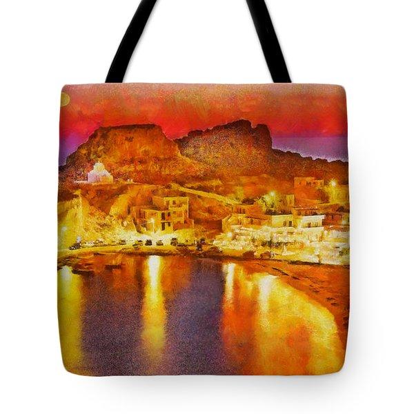 Finiki Karpathos Tote Bag by George Rossidis