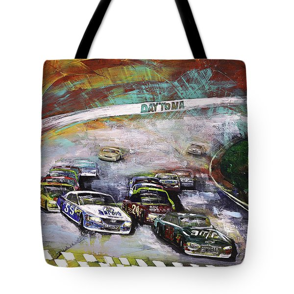 Finish Line Tote Bag by Gray  Artus