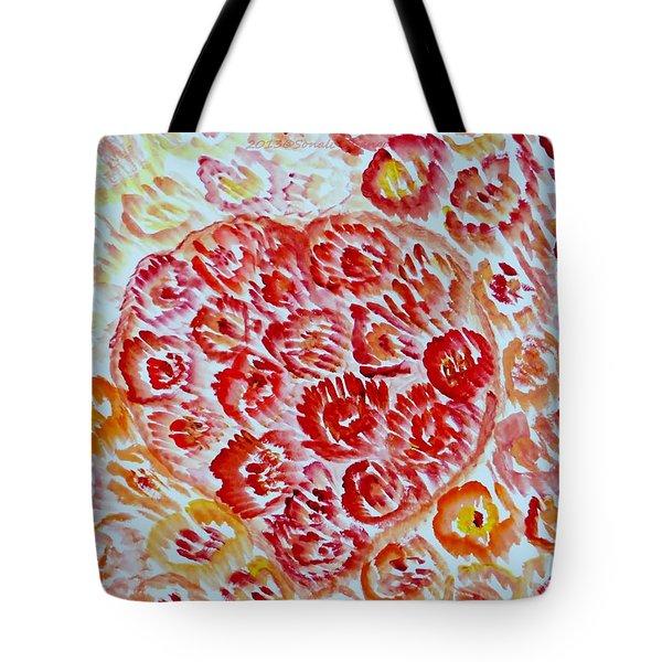 Fioritura Amore Tote Bag by Sonali Gangane