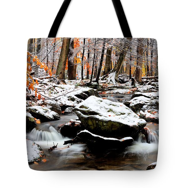 Fire And Ice Tote Bag by JC Findley