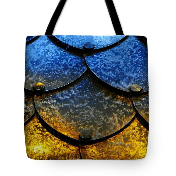 Fire And Ice Tote Bag by Skip Hunt