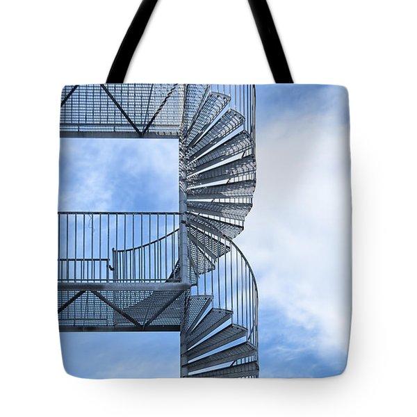 Fire Escape Tote Bag by Antony McAulay