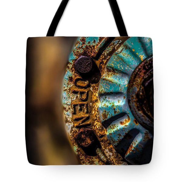 Fire Hydrant  Tote Bag by Bob Orsillo