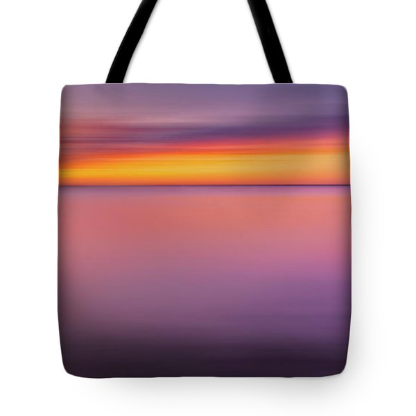 Fire In The Sky Tote Bag by Bill  Wakeley