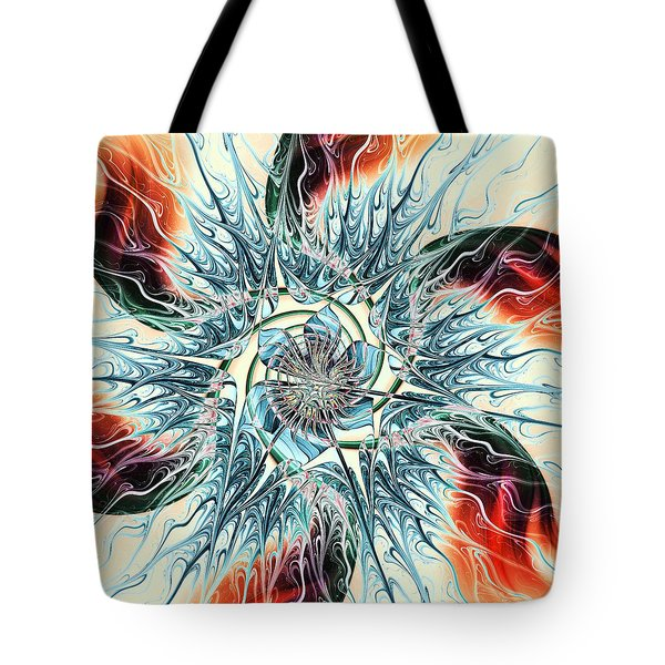 Fire Vs Ice Tote Bag by Anastasiya Malakhova