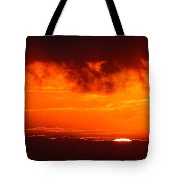 Fireball Tote Bag by Adam Romanowicz